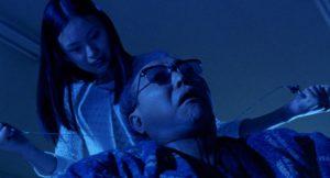 Renji Ishibashi e Eihi Shiina in Audition (1999) film