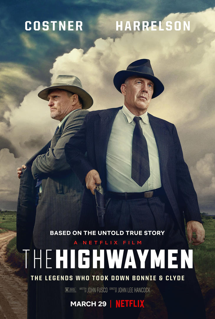 The Highwaymen film netflix poster