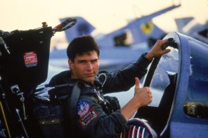 Tom Cruise in Top Gun (1986)
