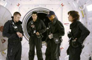 Troy Garity, Cliff Curtis, Chris Evans e Cillian Murphy in Sunshine (2007) film