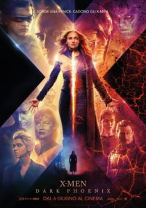 X-Men Dark Phoenix film poster ita