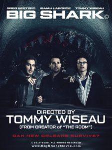 big shark film wiseau poster
