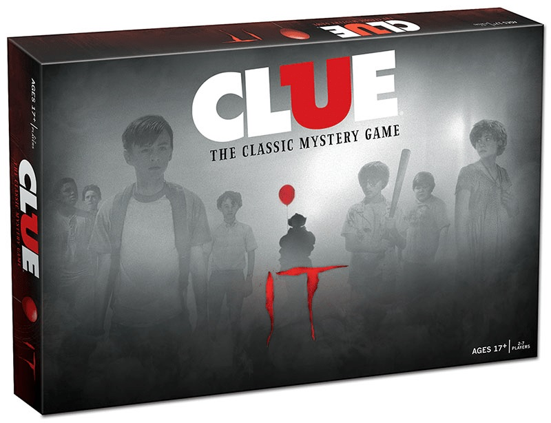 cluedo IT film pennywise