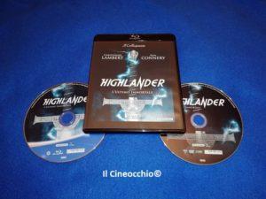 highlander blu-ray immortale