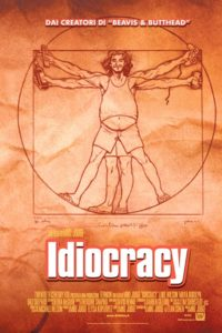 idiocracy mike judge film poster