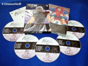 ken il guerriero box 3 dvd