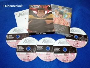 ken il guerriero box 4 dvd