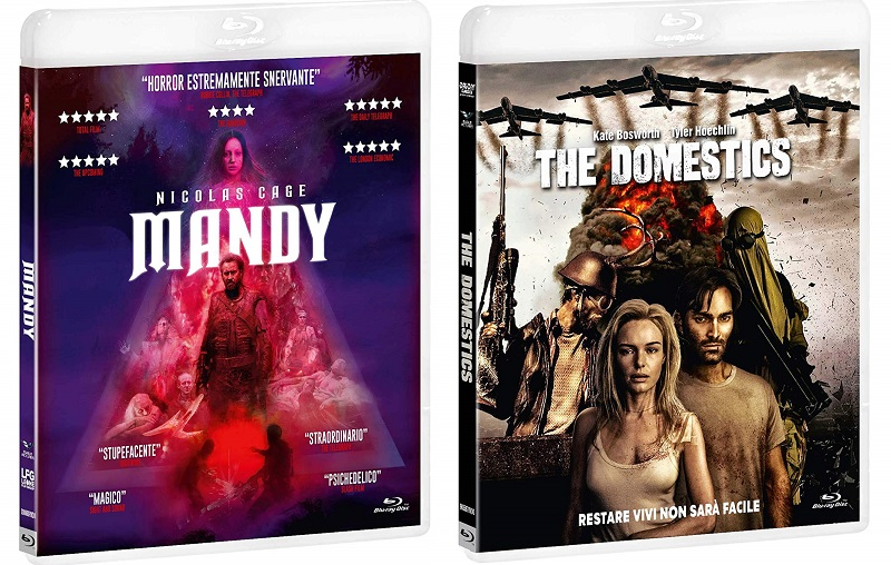 mandy + the domestics blu-ray
