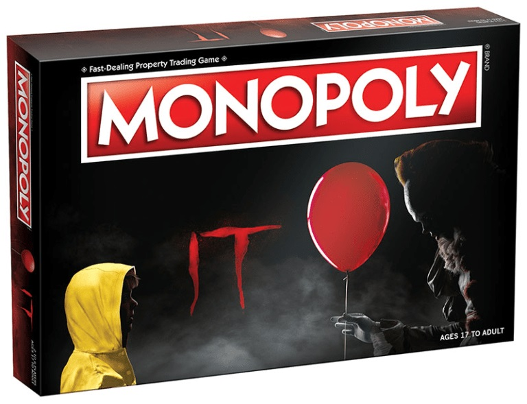 monopoly IT pennywise film