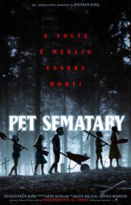 pet sematary poster ita