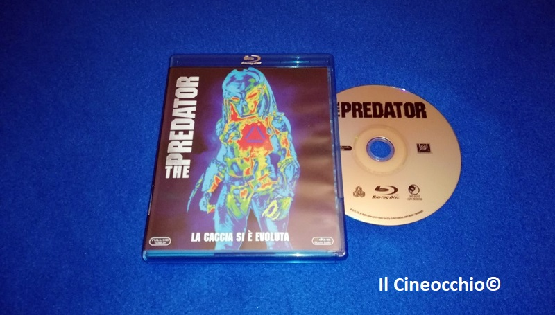 the predator blu-ray ita