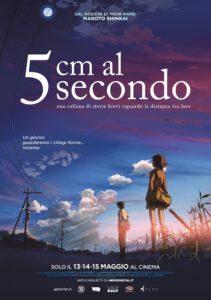 5 cm al secondo film poster