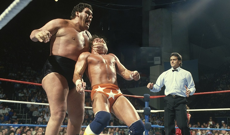 André the Giant e Randy Savage in Andre the Giant (2018) film