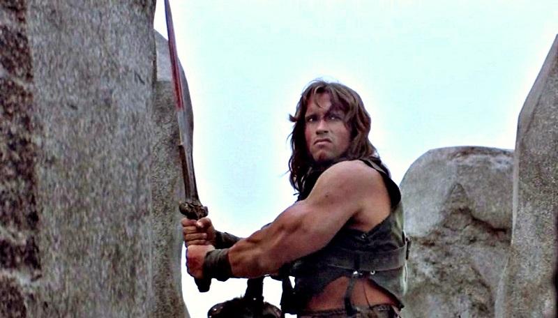 Arnold Schwarzenegger in Conan 1982