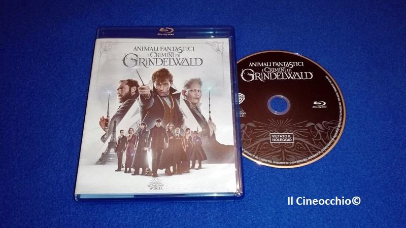 Blu-ray Animali fantastici - I crimini di Grindelwald