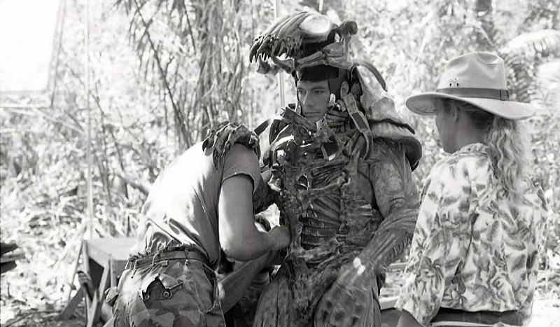 Predator 1987 set Jean-Claude Van Damme