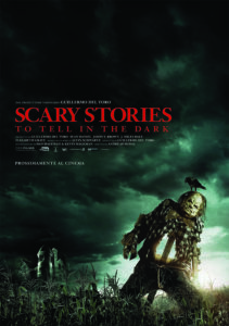 SCARY STORIES TO TELL IN THE DARK poster ita