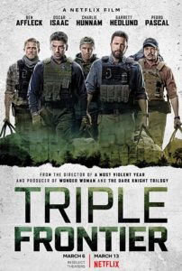 Triple Frontier film Ben Affleck netflix poster