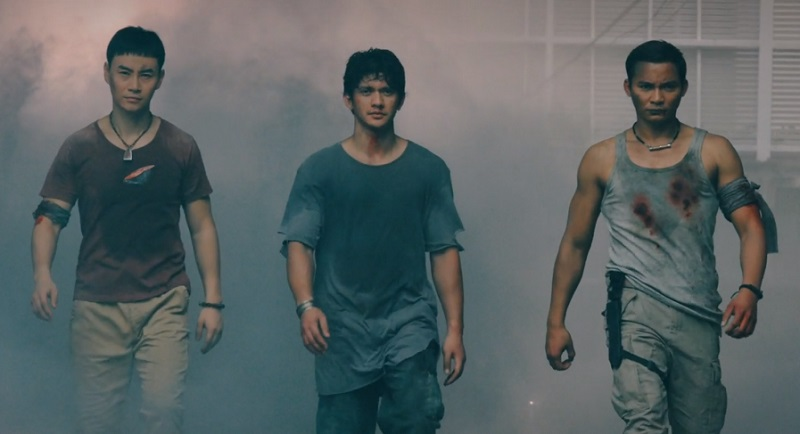 Triple Threat film Iko Uwais, Tony Jaa e Tiger Chen