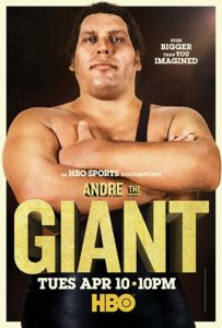 andre the giant film tv hbo poster