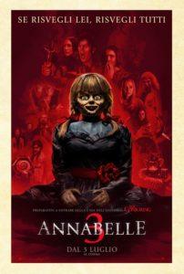 annabelle 3 poster film