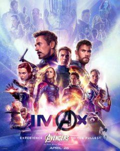 avengers endgame poster imax