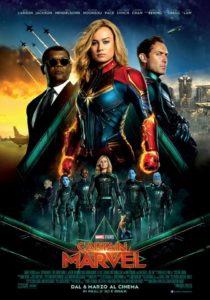 captain marvel film poster