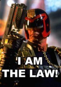 dredd io sono la legge