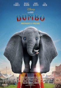 dumbo tim burton film poster