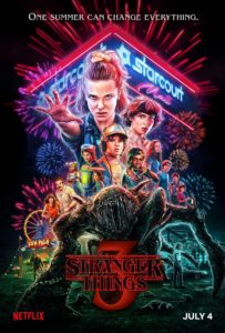 stranger things 3 poster