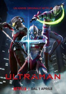 ultraman serie netflix poster