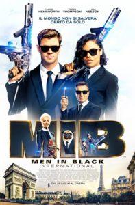 Men in Black International film poster