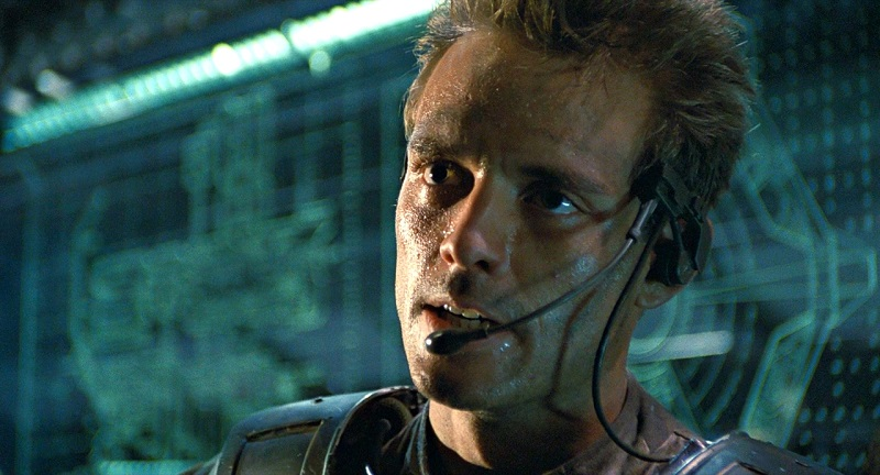 Michael Biehn in Aliens (1986) film