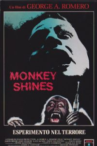 Monkey Shines - Esperimento nel terrore film poster