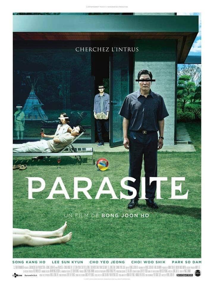 Parasite film Bong Joon-ho poster 2019