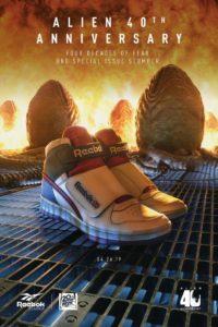 Reebok Alien Stompers scarpe poster