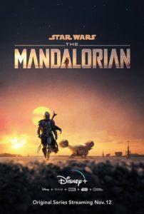 The Mandalorian serie poster