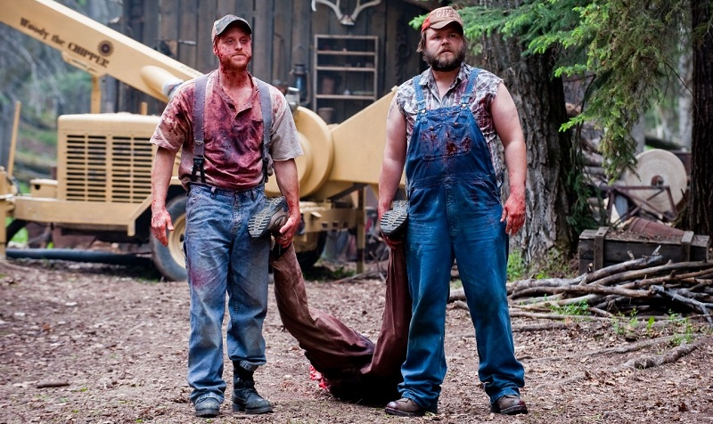 Tyler Labine e Alan Tudyk in Tucker and Dale vs Evil (2010)