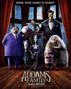 la famiglia addams film poster 2019