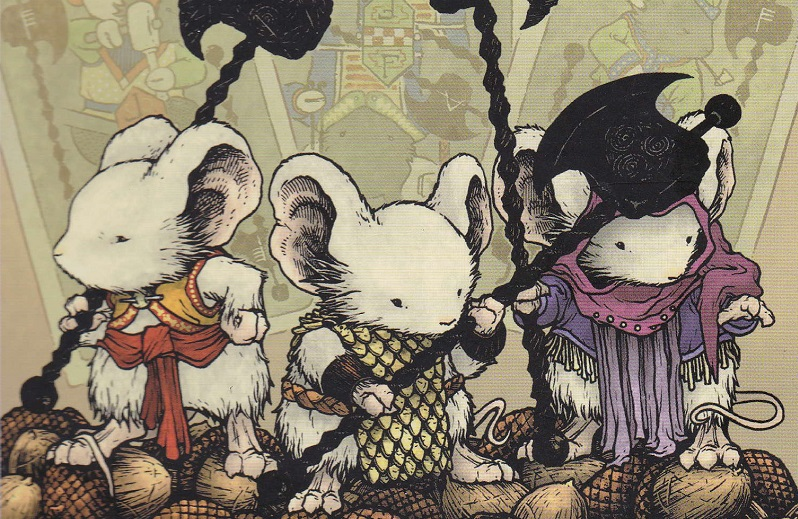 mouse guard la guardia dei topi david