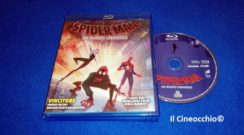 spider-man un nuovo universo blu-ray