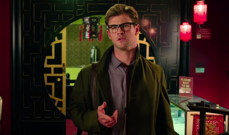 Chris Hemsworth in Ghostbusters paul feig
