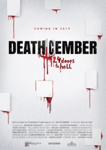 Deathcember poster film antologia