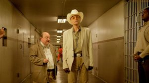 Dieter Laser e Laurence R. Harvey in The Human Centipede III (Final Sequence) (2015)