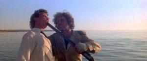 Hugh Keays-Byrne e Tim Burns in Mad Max (1979)