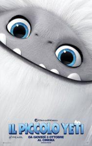 Il Piccolo Yeti film poster ita