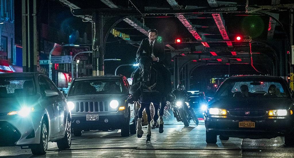 Keanu Reeves in John Wick 3 - Parabellum (2019)