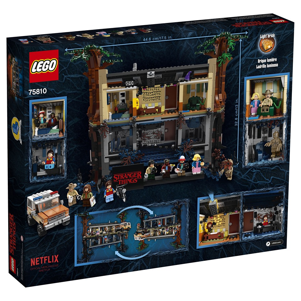 LEGO Stranger Things sottosopra set (10)