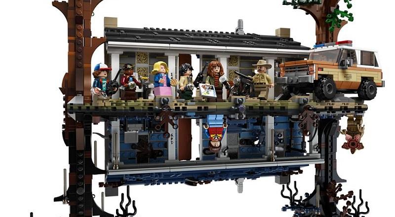 LEGO Stranger Things sottosopra set (2)