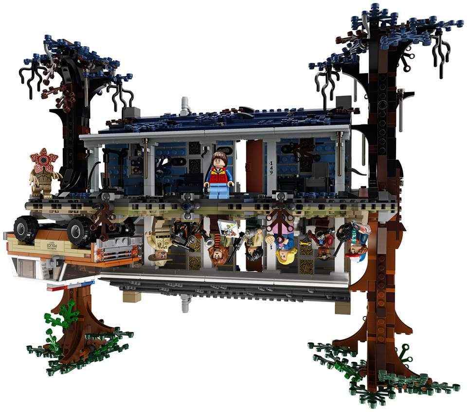 LEGO Stranger Things sottosopra set (4)